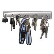 Suport magnetic pentru chei, otel inoxidabil, 32 cm lungime