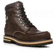 Bogner Herren Schuhe Boot Leder dunkelbraun braun,schwarz