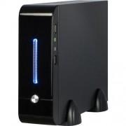 Carcasa E-2011, MiniITX, Sursa 60w externa, Negru