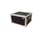 "AWEO 6 HE Rack 19"" Double Door 39 CM Flightcase 7 mm MPX"