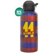 Bidon barcelona blauw/rood aluminium Neymar: 400 ml