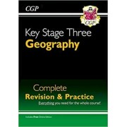 KS3 Geography Complete Study & Practice by CGP Books