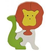 Skillofun Wooden Take Apart Puzzle Lion, Multi Color