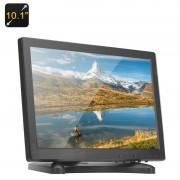 Moniteur 10.1 pouces IPS - 1280x800, HDMI, VGA, AV, haut-parleurs, 16: 9 aspect ratio