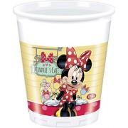 Bicchiere Minnie Cafe' 8 Pezzi 200ML