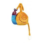Vaya forma lujosa, suave Cuna juguete musical con Reconfortante Lullaby en Diseño lindo del caracol