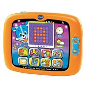 V Tech Light Up Baby Touch Tablet, Orange