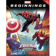 Marvel Legends: Told Through the Eyes of Captain America, Spider-Man, and Iron Man by Jim McCann