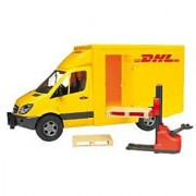 Bruder 2534 Mercedes Benz Sprinter Dhl With Manually Operated Lift