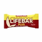Lifebar+ Canneberge maca baobab 47g
