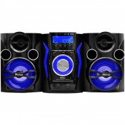 MINI SYSTEM PHILCO 160w FM USB MP3 Bluetooth, Rádio CD, CD-R/RW