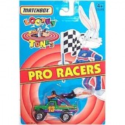 Matchbox - Looney Tunes - Pro Racers - Daffy Duck - Daffy's Diner #13 Miniature Race Truck (1:64 Scale)