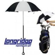 Golftaschen Regenschirm mit Ballangel