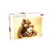 Tic Tac - Puzzle Puppy And A Teddy Bear 1000Pz