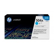 HP CP3525/CM3530 MFP Cyan Print Crtg Contains 1 LaserJet CP3525/CM3530 mfp standard capacity cyan cartridge prints approximately 7,000 pages using ISO/IEC 19798 yield standard