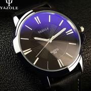 2016 YAZOLE Top Brand Luxury Famous Quartz Watch Men Wristwatch Male Clock Wrist Watch Business Quartz-watch Relogio Masculino