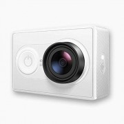 YI Action Camera Cámara Full HD 1080p, 16 MP, WIFI, Bluetooth, Objetivo ultra gran angular de 155 °, color blanco