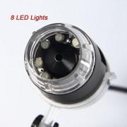 NEW!! 50-500X Practical 2MP USB 8 LED Light Digital Microscope Endoscope Camera Magnifier