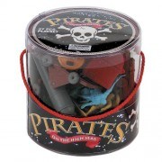 Pirates on the High Seas Travel Bucket 37 Piece Play Tub