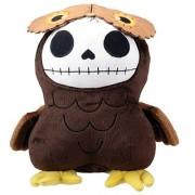 Brown Owl Hootie Furry Bones Collectible Stuffed Plush Doll