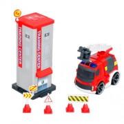 Silverlit 81137 - Set caserma dei pompieri con radiocomando