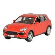 Rmz City Die Cast Porsche Cayenne Turbo, Red/White (5-inch)