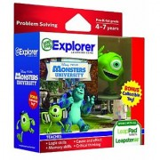 LeapFrog Explorer Disney Learning Games with Free Collectible Toy (Pixar Monsters University)