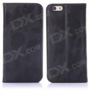 """Enkay protection PU Leather Case w / stand / emplacement de carte pour IPHONE 6 4.7 """"- noir"""