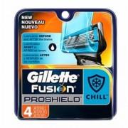 Gillette Fusion Proshield Chill Rakblad 4 st Rakblad