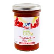 Gem bio cu goji (indulcit cu pulpa de mere) 320g