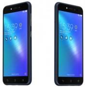 "Telefon Asus ZenFone Live ZB501KL, Procesor Quad-Core 1.4GHz, IPS Curved display 5"", 2GB RAM, 16GB Flash, 13MP, Wi-Fi, 4G, Dual Sim, Android (Albastru) + Cartela SIM Orange PrePay, 6 euro credit, 4 GB internet 4G, 2,000 minute nationale si internationale"