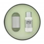 Carolina Herrera - 212 Caixa De Presente Ou Kit 60 ML Eau De Toilette Spray + 100 ML Loção Para O Corpo - Para Mujer
