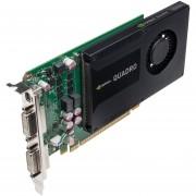 NVIDIA Quadro K2000D Video Card - 2GB GDDR5, PCI-Express 2.0 (x16), 1x Dual-Link DVI-D, 1x Dual-Link DVI-I, 1x Mini DisplayPort, DirectX 11, Single-Link, Fan, (VCQK2000D-PB)