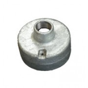 20mm 1 Back Entry Galvanised Conduit Box