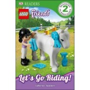 DK Readers L2: Lego Friends: Let's Go Riding! by Catherine Saunders
