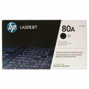 HP 80A, Black LaserJet Toner Cartridge (CF280A)