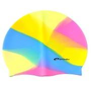 ABSTRACT Plavecká čepice silikonová pestrá žlutá Spokey