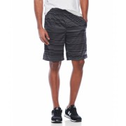 adidas Climalite Glitch Shorts Dark Grey Black