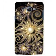 Citydreamz Black Golden Pearls Floral Design Hard Polycarbonate Designer Back Case Cover For Samsung Galaxy Grand Neo/Grand Neo Plus I9060I
