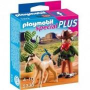 Комплект Плеймобил 5373 - Каубой с конче - Playmobil, 291138