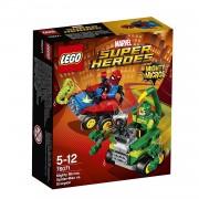 Lego super heroes mighty micros: spider-man contro scorpione 76071
