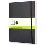 Moleskine QP623 - Cuaderno A4, color negro oscuro