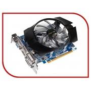 Видеокарта GigaByte GeForce GT 740 1072Mhz PCI-E 3.0 1024Mb 5000Mhz 128 bit 2xDVI HDMI HDCP GV-N740D5OC-1GI