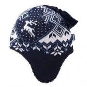 Kama Dziecięca czapka Kama B61 108 ciemno niebieska