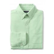 ランズエンド LANDS' END ボーイズ・オックスフォード・シャツ【キッズ・子供服・男の子】(ブライトグリーンオックスフォード)