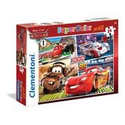 Clementoni 24470 - Puzzle Cars, 24 Maxi Pezzi, Multicolore