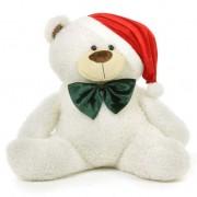 White 3.5 Feet Special Christmas Plush Teddy Bear