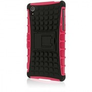 Empire MPERO IMPACT SR Series Kickstand Case for Sony Xperia Z2 - Retail Packaging - Hot Pink