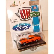 M2 Machines Auto-Drivers 1970 Ford Mustang MACH 1 428 Twister Special, Release 31, R31 15-05
