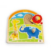 Hape - The At Zoo Knob Puzzle